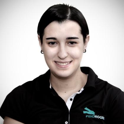 Paula Vega es una las fisioterapeutas del equipo de Madrid.