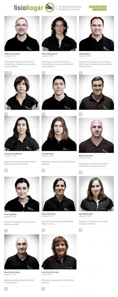 Fisioterapeutas en Madrid