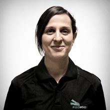 Patricia Ustio es una de nuestras profesionales especializada en fisioterapia de prótesis.
