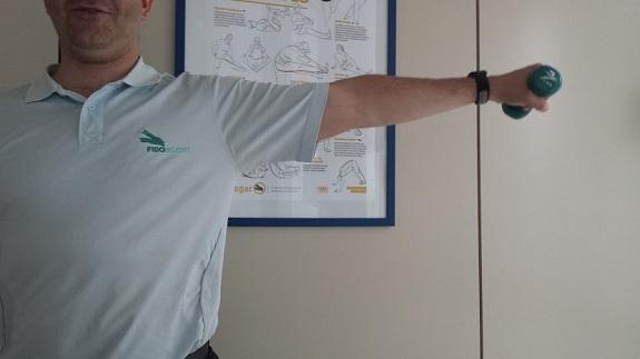 Ejercicios para mejorar el hombro tras un implante