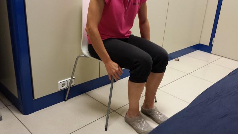 No cruzar las piernas tras prótesis de cadera